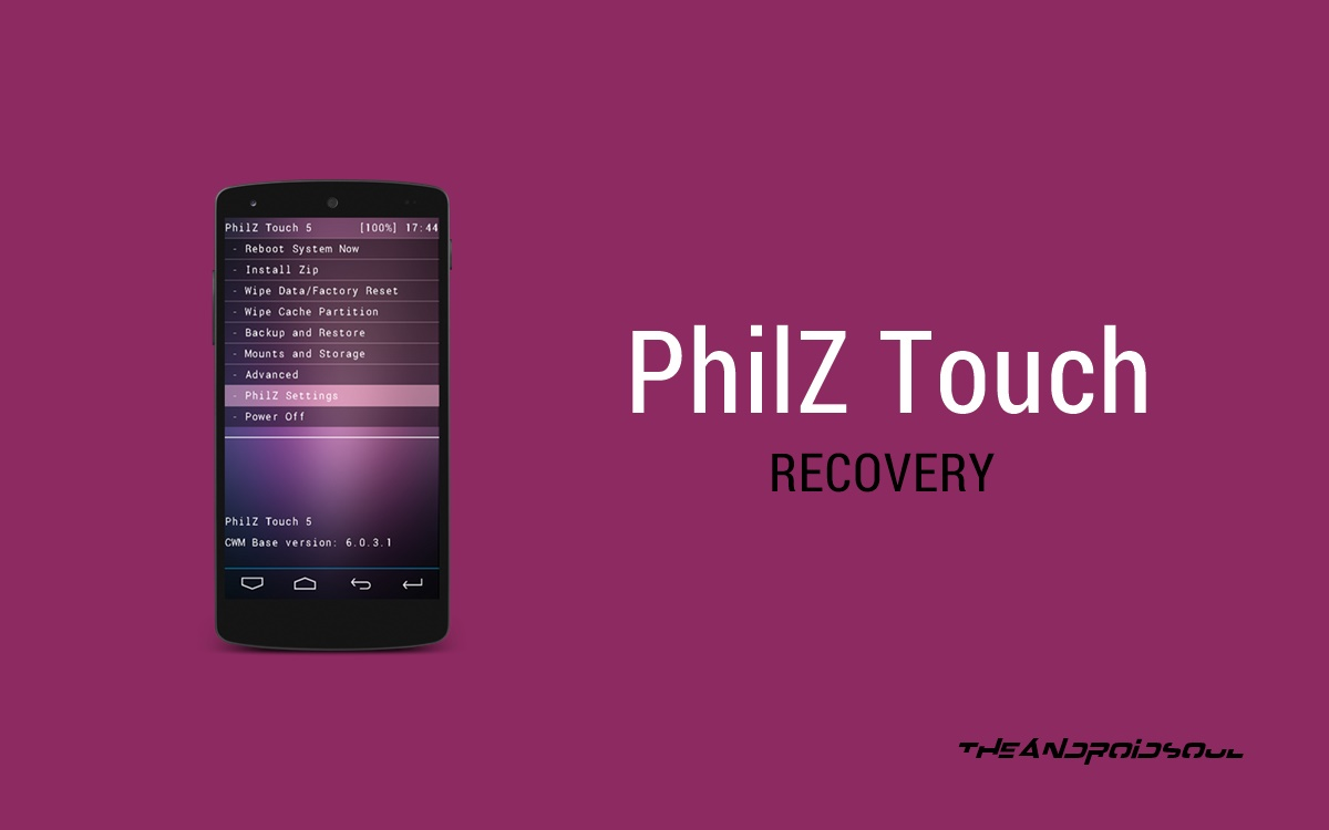 How To Install Philz Touch Recovery On Redmi 2