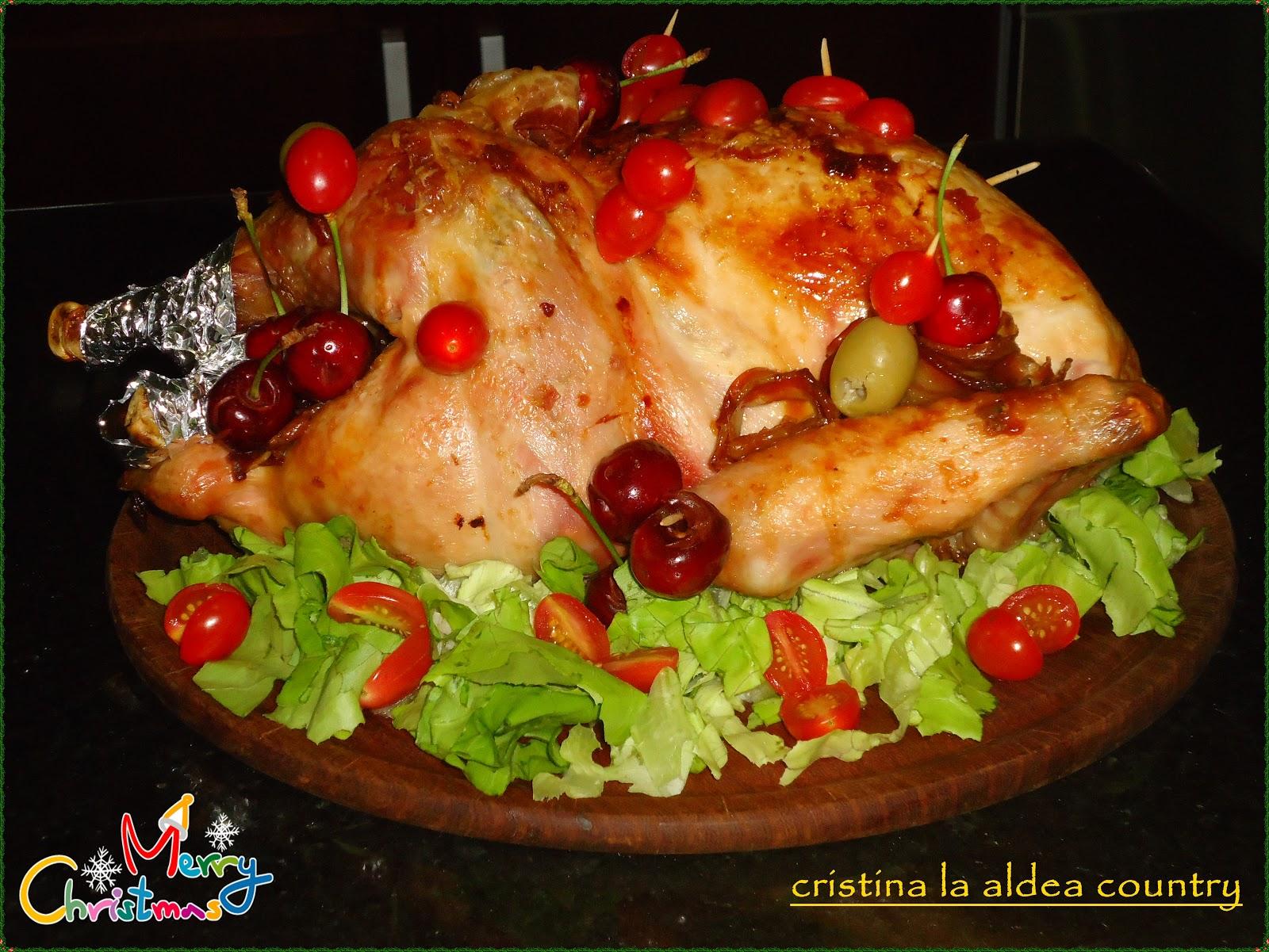 EL RINCON DE MIS AMIGAS: Pavita al horno - Ensaladas