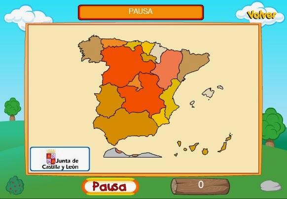 JUEGO DE LA PROVINCIAS ESPAÑOLAS