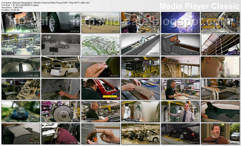 Ultimate Factories Rolls-Royce 2007 video thumbnails
