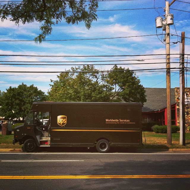 The-UPS-Truck-in-Farmingdale