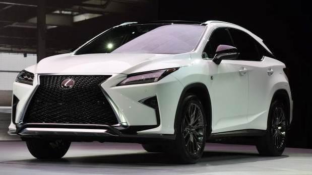 2017 Lexus RX 350 Concept