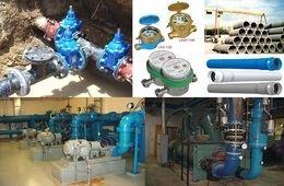 شبكات المياه والصرف الصحي