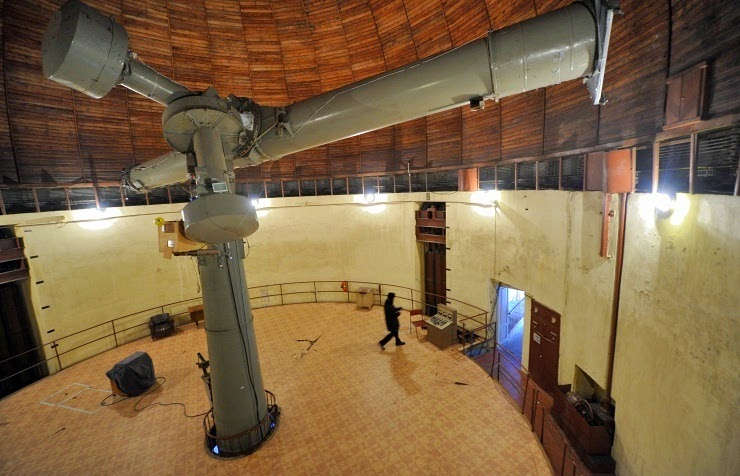 Pulkovo Observatory in St. Petersburg. Credit: ITAR-TASS/Ruslan Shamukov