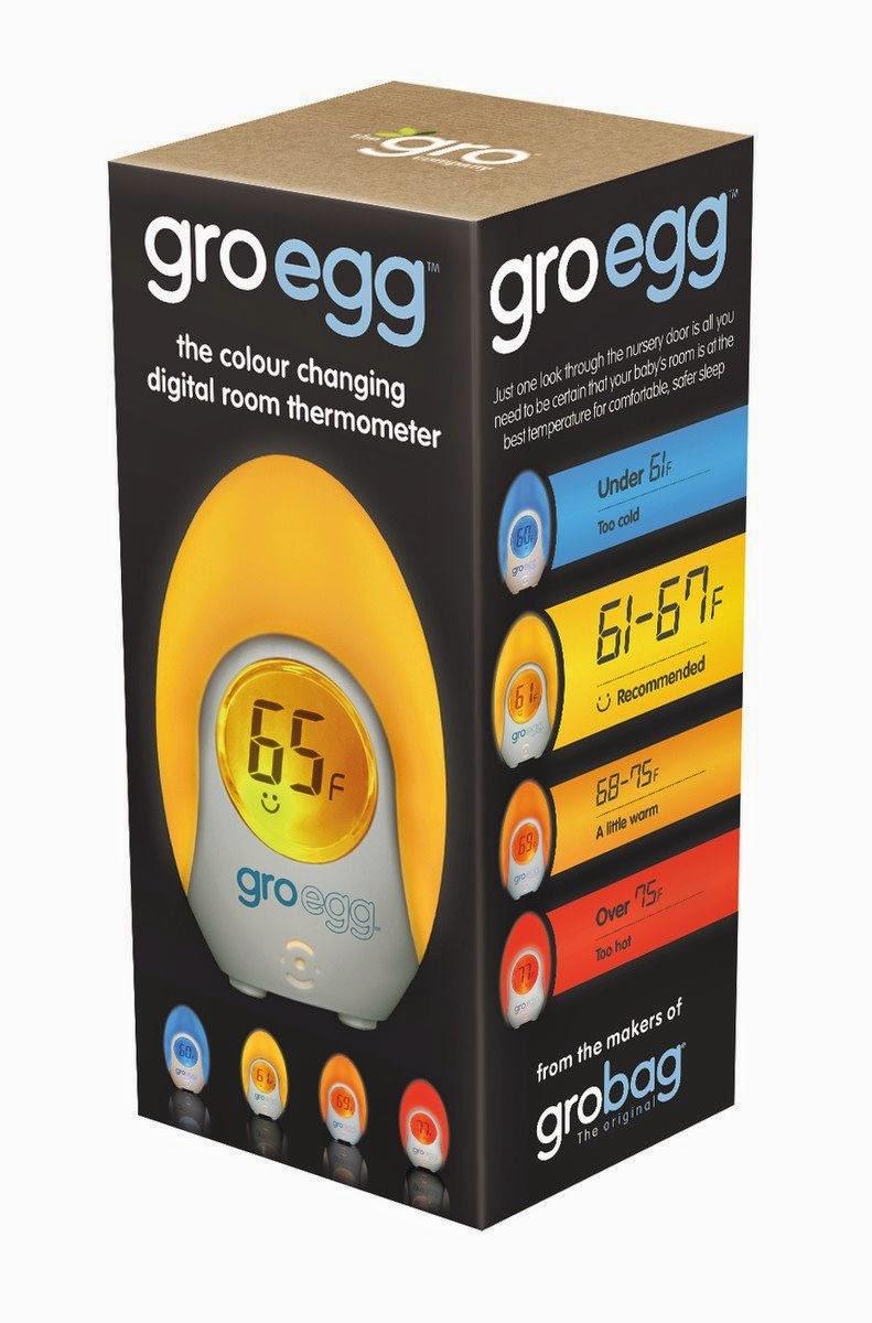 Gro Egg Room Temperature Monitor
