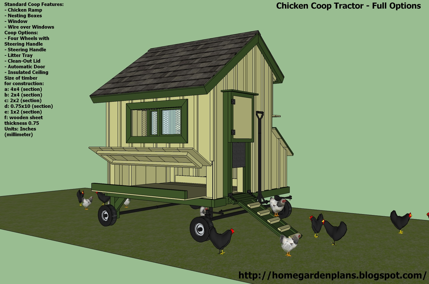 cost of building chicken coop