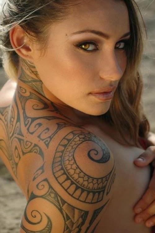 Maori Women Tattoo
