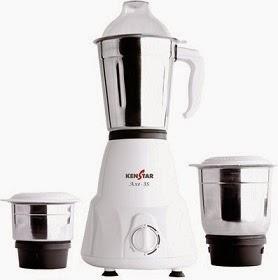 Kenstar KMA50W3S-DBB 500 Mixer Grinder worth Rs.2995 for Rs.1399 @ Flipkart