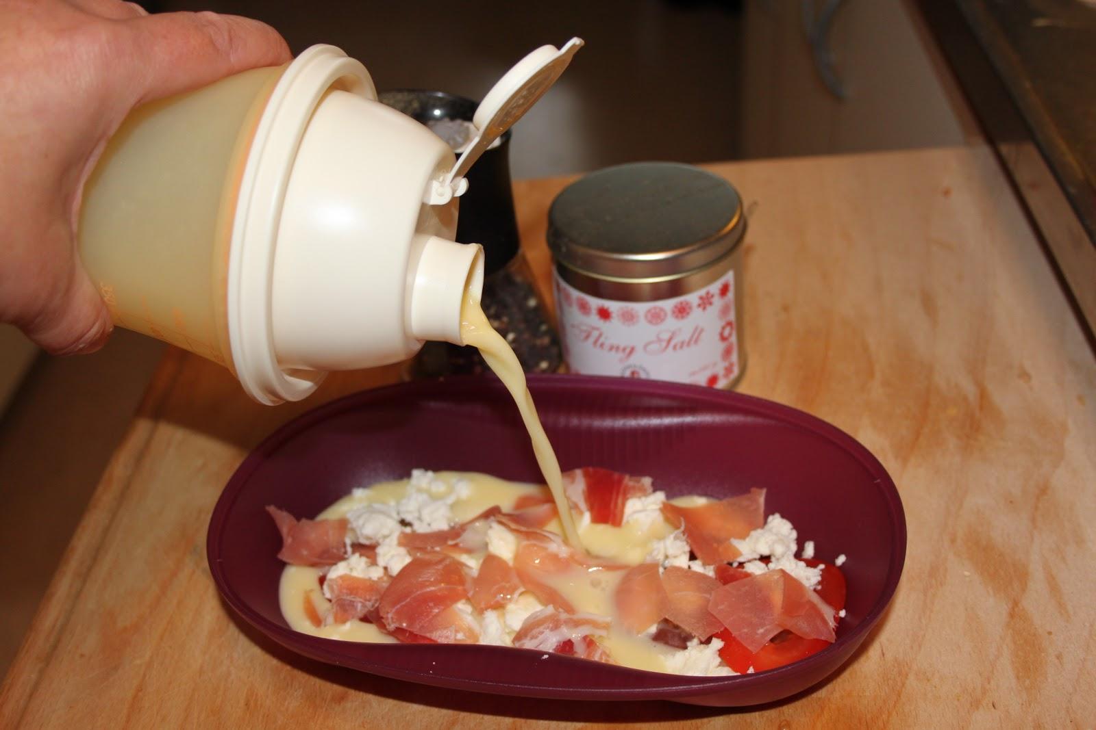 omelett i micro