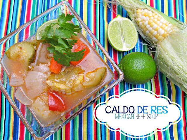 Caldo de Res (Mexican Beef Soup) from It's Always Ruetten
