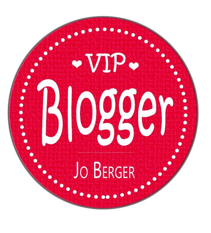 Ich bin VIP Blogger von Jo Berger