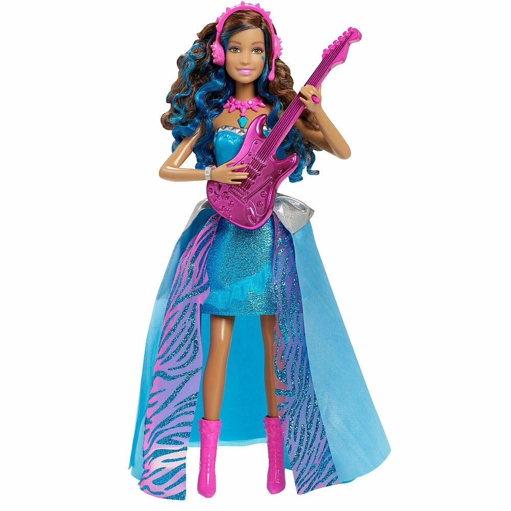 JUGUETES- Barbie in Rock'n Royals  Singing Erika | Canta | Muñeca - Doll   Toys | Producto Oficial Película | Mattel CKB58 | A partir de 3 años
