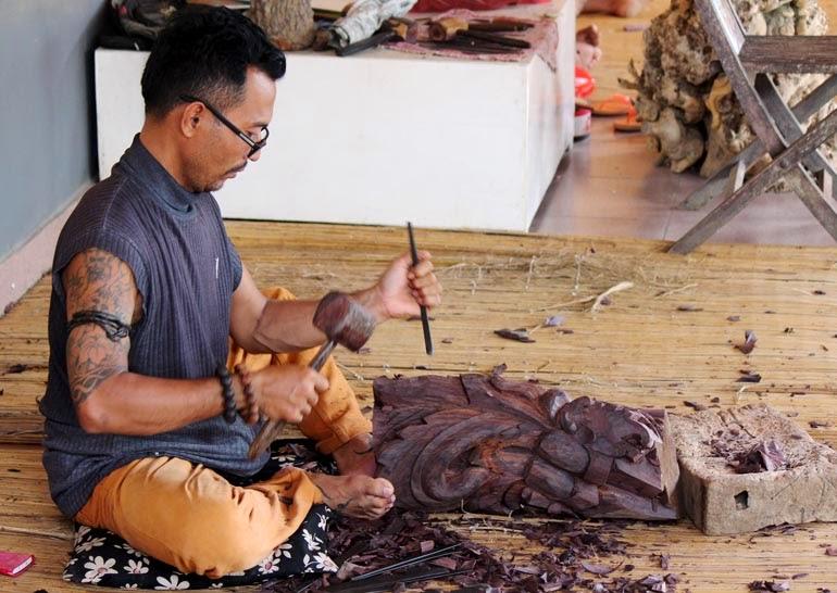 Artisan in Bali Indonesia
