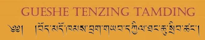 GUESHE TENZING TAMDIN