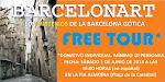 """FREE TOUR"" POR LA MISTERIOSA BARCELONA GÓTICA."