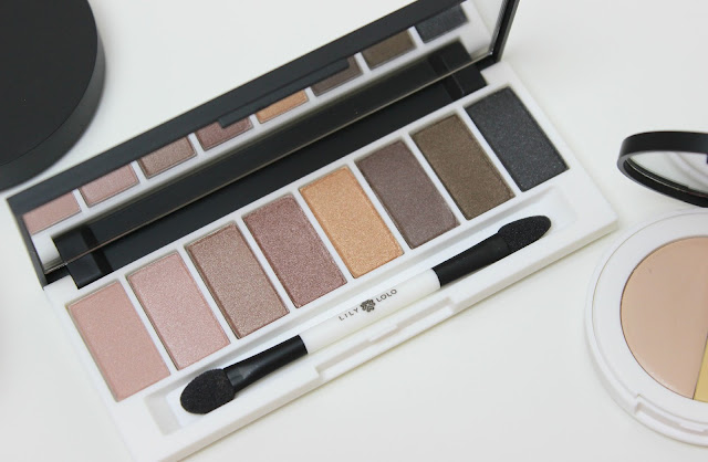 The Lily Lolo Laid Bare Eye Palette for neutral everyday eyes