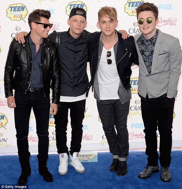 Teen Choice Awards 2014, Rixrton, Jake Roche, Danny Wilkin, Charley Bagnall, Lewis