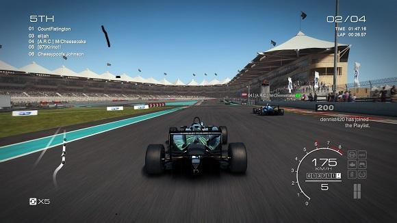Screenshot Grid Autosport pc
