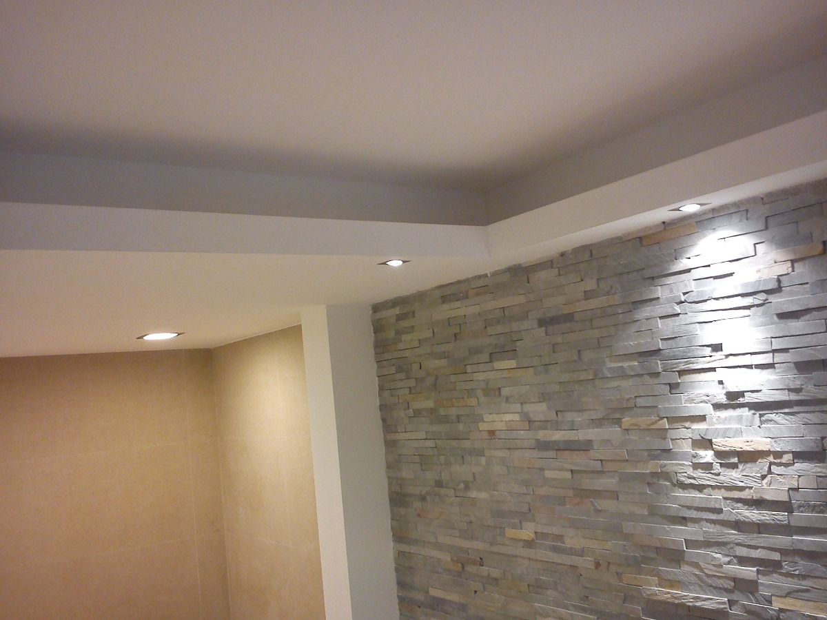 Yeser a refacciones en yeso yesero profesional for Luces de pared interior