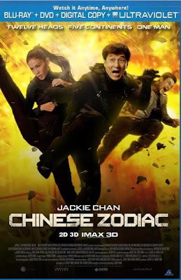Filme Poster Chinese Zodiac BRRip XviD & RMVB Legendado