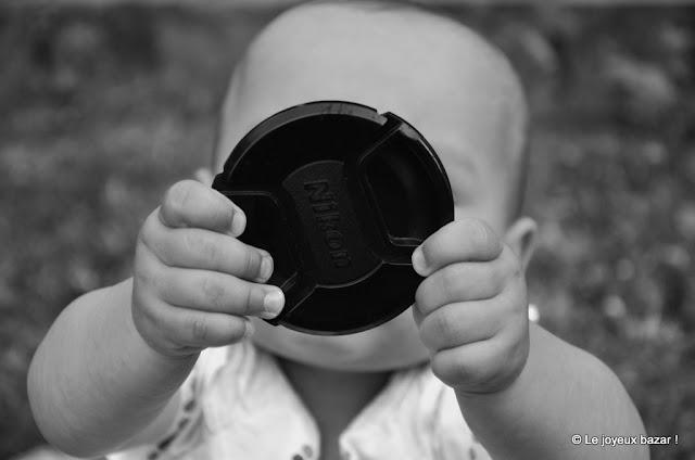 Photo bébé - noir et blanc