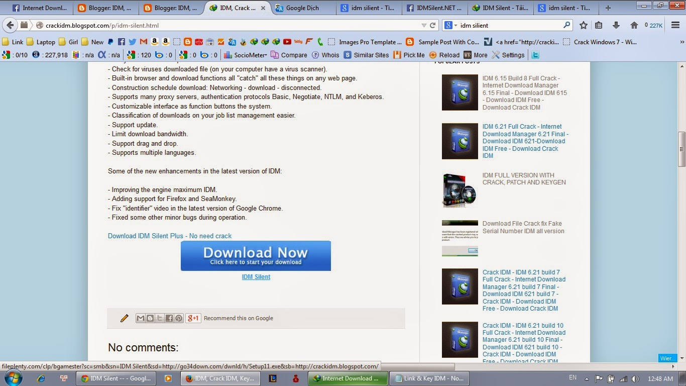 8 Sep 2014 Internet Download Manager 5 18 No Crack Needed Silent Install ra