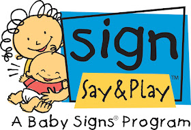 Certified in Baby Sign Language!
