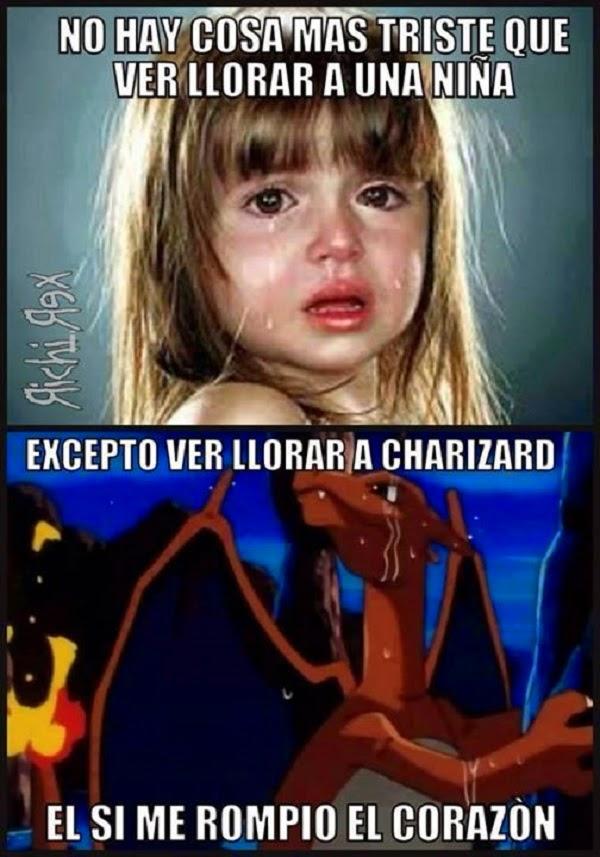 Nada mas triste que ver llorar a una niña, excepto…