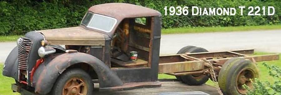 1936 Diamond T 221D