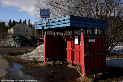 svappavaara, busshållplats, norrbottens länstrafik, lappland, hållplats, busskur