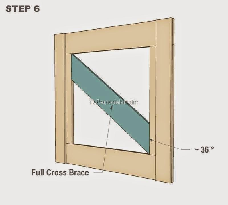 Planos para hacer una peque a puerta for Puerta palets