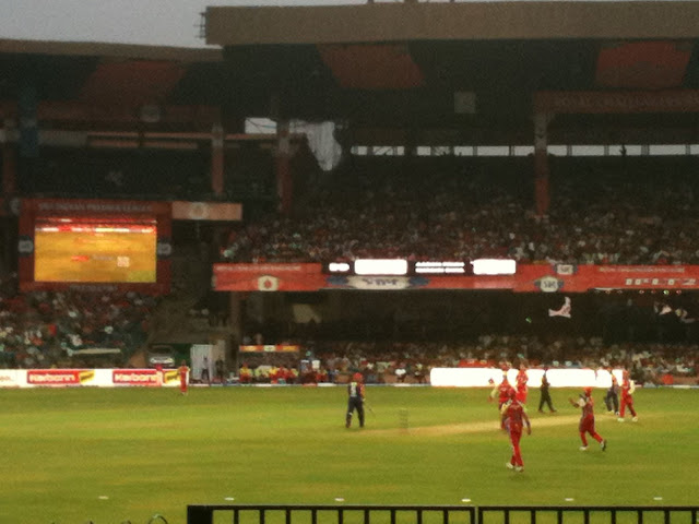 RCB defeat DD in Chinnaswamy stadium