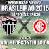 ATLÉTICO MG x INTERNACIONAL - BRASILEIRÃO - 19h30 - 14/10