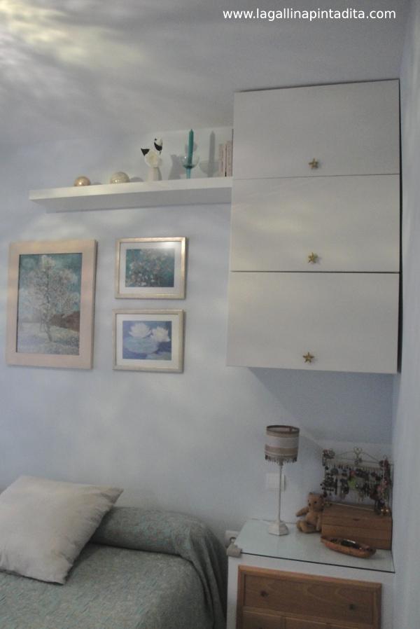 Ikea hack muebles de cocina en el dormitorio de gallinita - Mueble cama ikea ...
