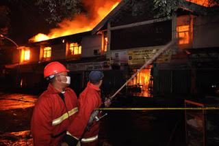 Kebakaran Pasar Babadan Kabupaten Semarang 2013