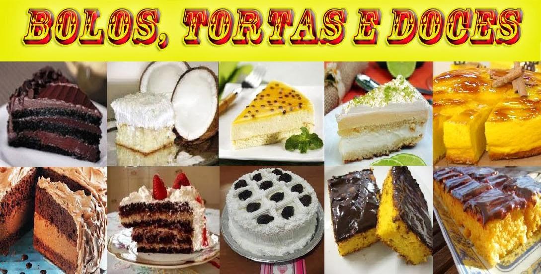 BOLOS, TORTAS E DOCES