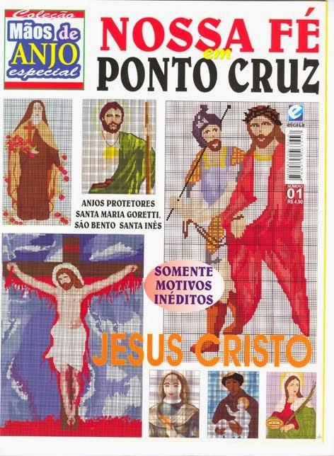 Imagens Sacras em Ponto Cruz