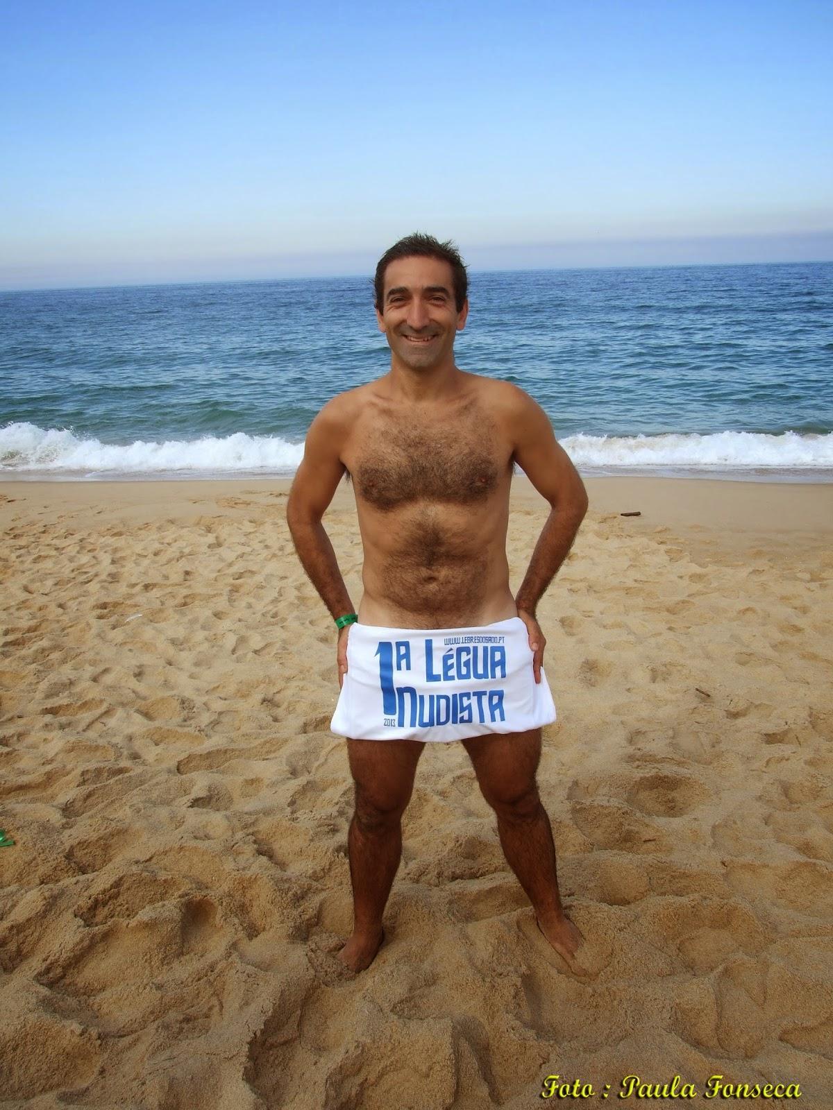 José Sousa : organizador e mentor da Légua Nudista no Meco