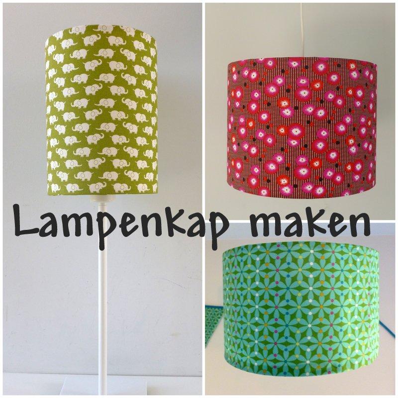 Huisje creatief workshop lampenkap maken - Kleine kap ...