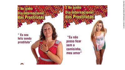 Happy prostitute ads in Brazil