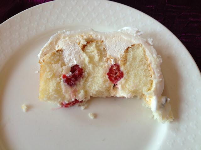 Disneyland Wedding - Wedding Cake with Raspberry Filling