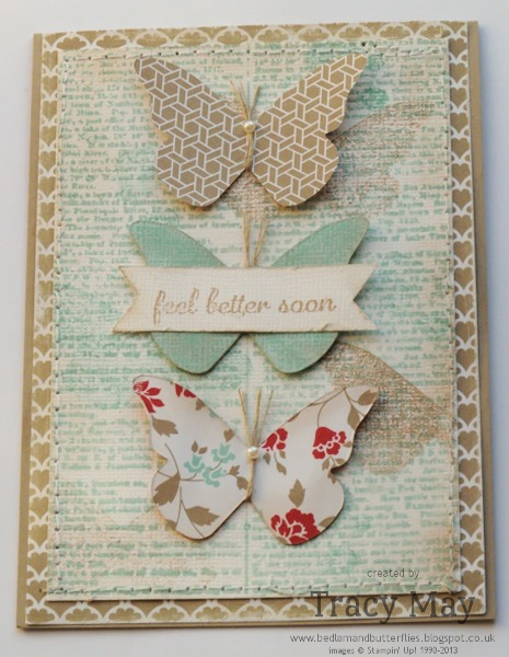 stampin up uk beautiful butterflies bigs independent demonstrator Tracy May card making ideas