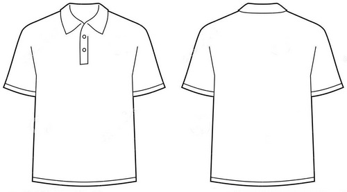 Polo shirt sketch