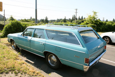 1967 Chevrolet Chevelle Concours Wagon.