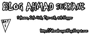 Blog Ahmad Suryani