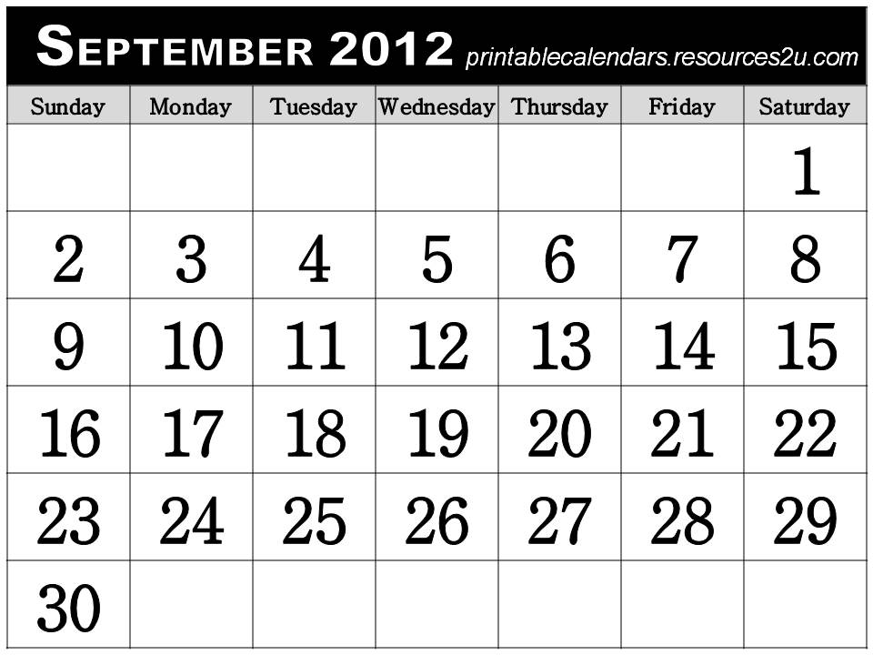 other free printable homemade 2012 calendars and planners words that