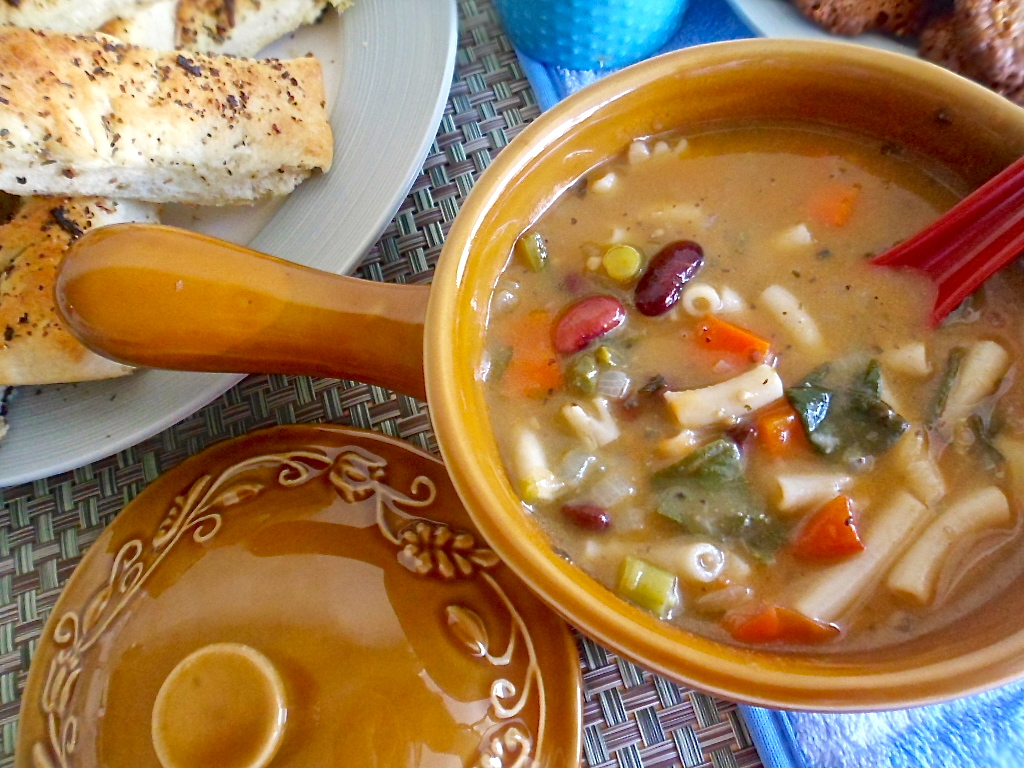SASI\'S KITCHEN: Minestrone
