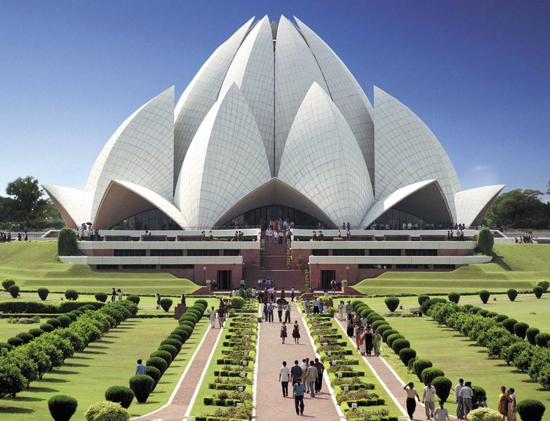 History Of Lotus Temple In Delhi History Of India