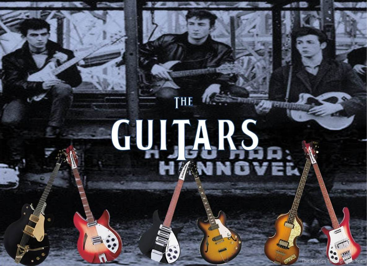 The Instruments Beatles Played Particularly Guitars Are Another Point Of Fascination For Rock Musical Artists Whove Ever Been Inspired By
