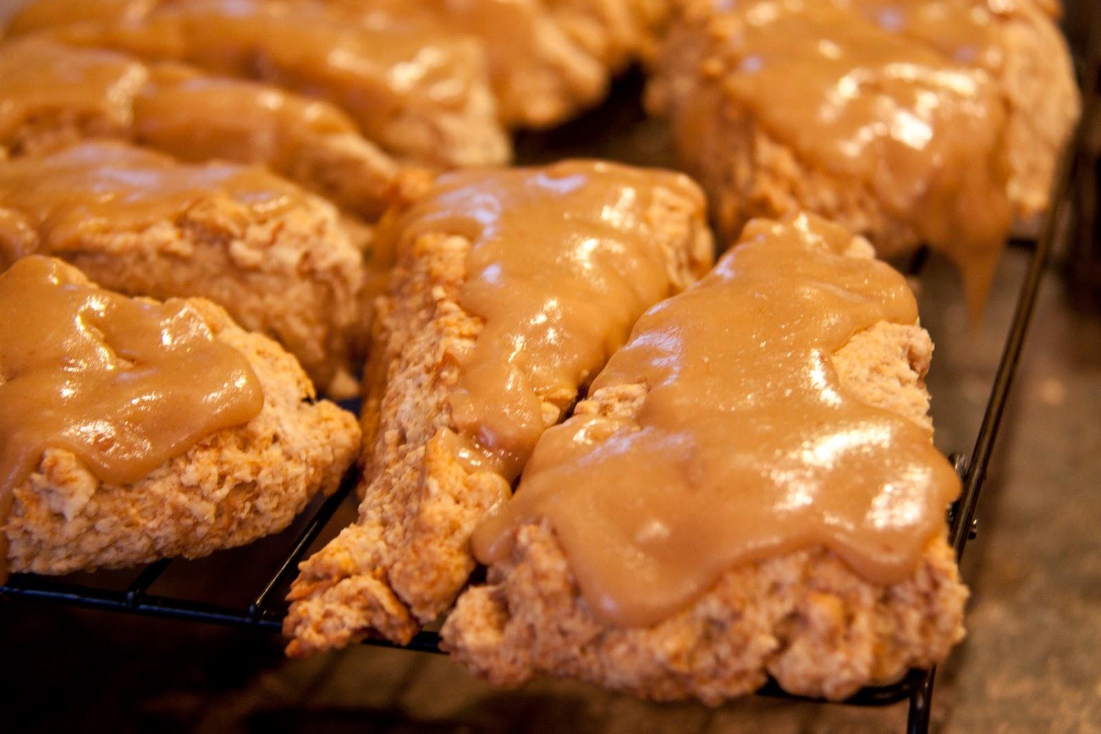 Nonesuch: Caramel Apple Scones